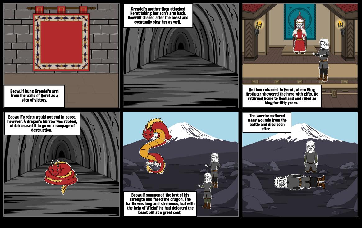 Beowulf Comic