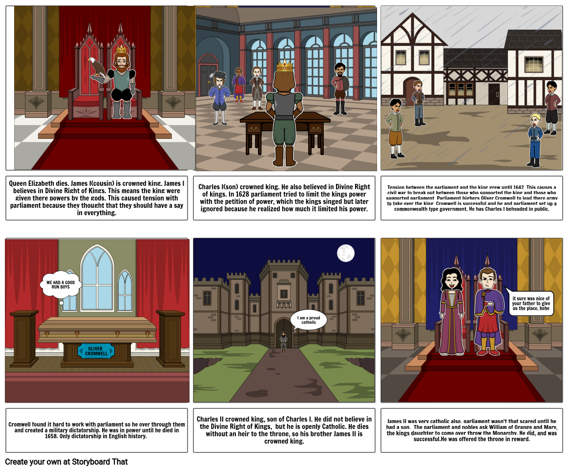 English Civil War and Revolution