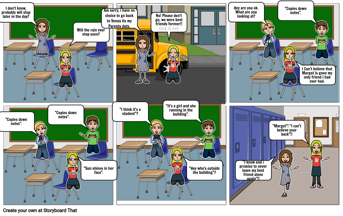 Kate Rosas storyboard project.