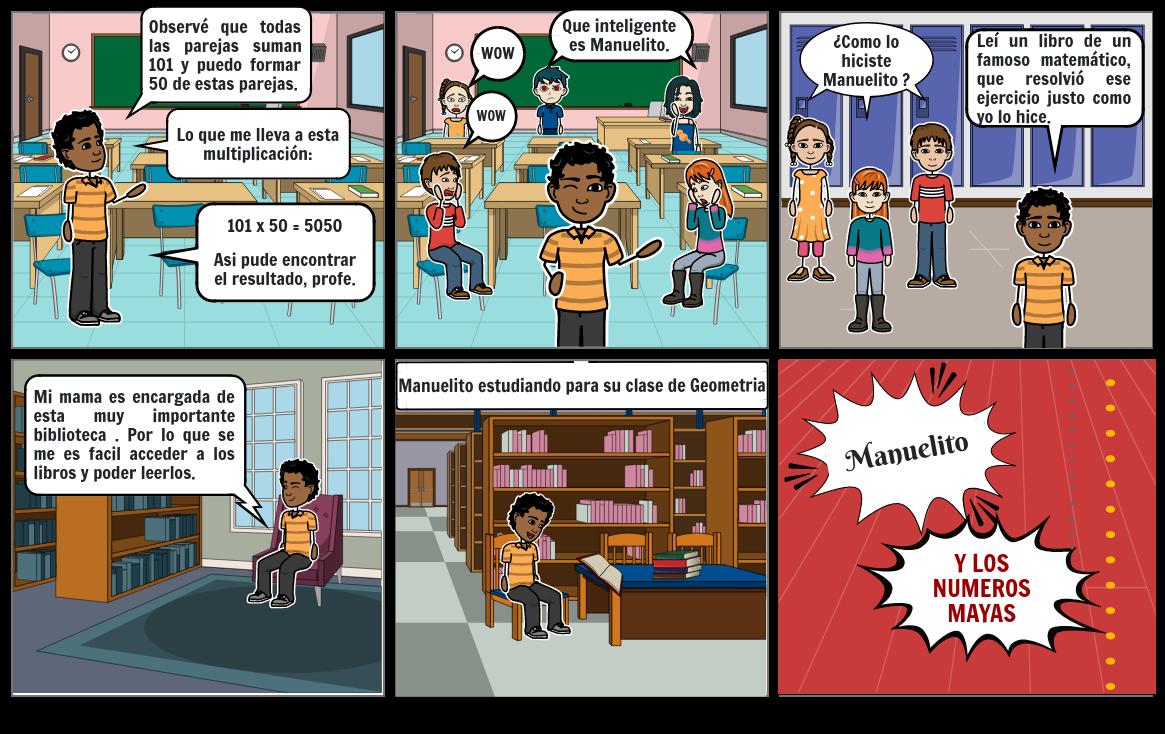Comic Manuelito parte 2