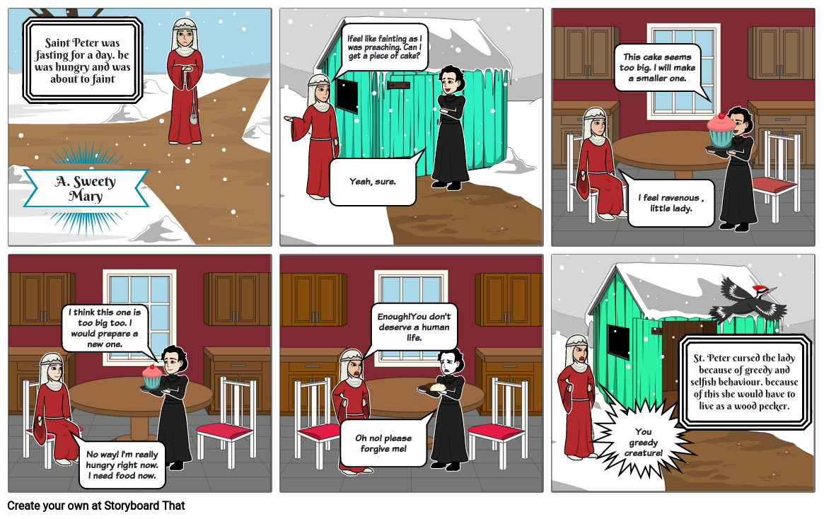 Legend Of The Northland_Comic Strip