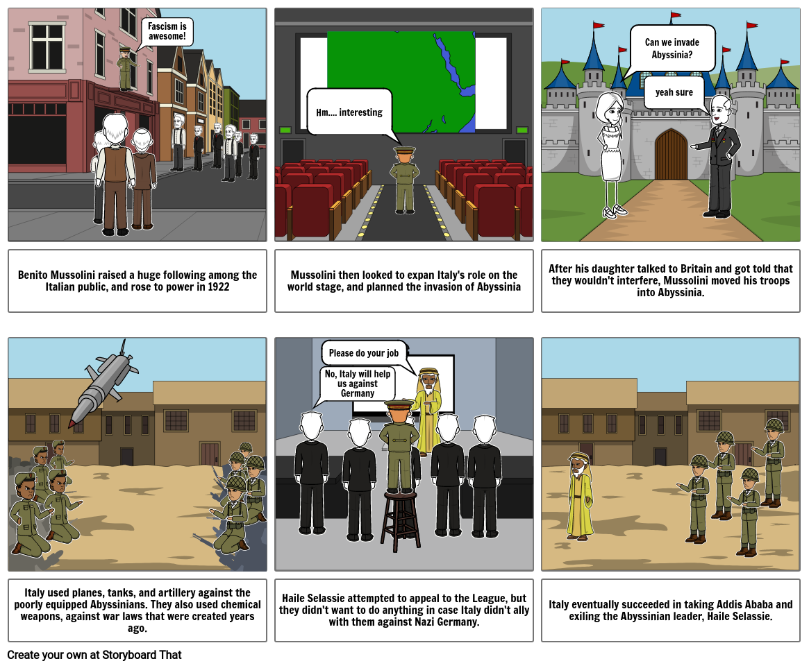 Abyssinia Revision
