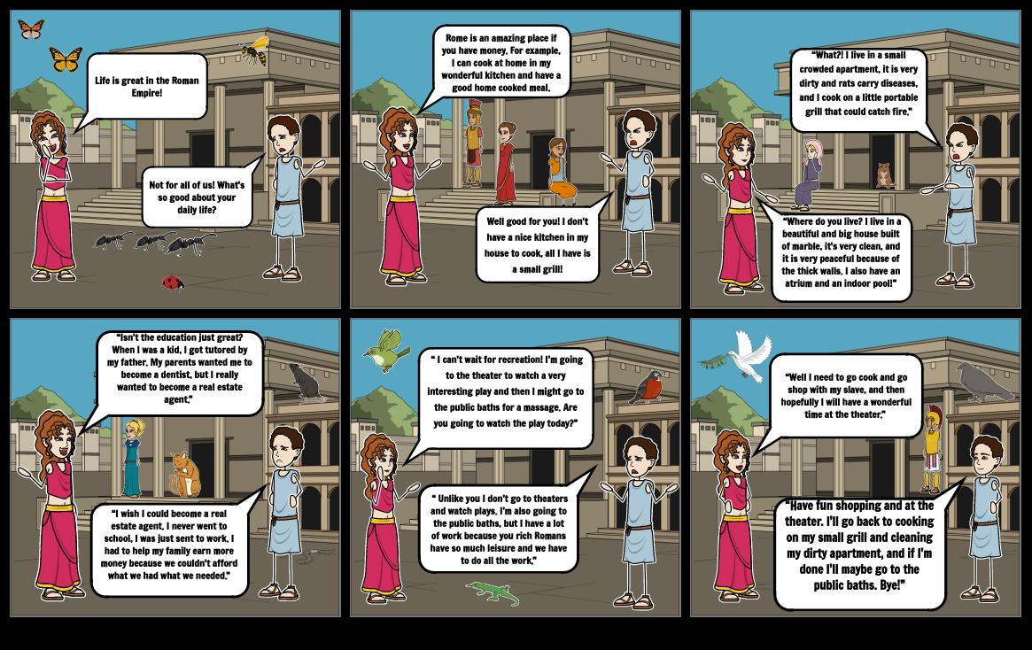 Roman Dialogue