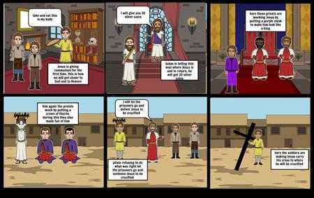 religion story board