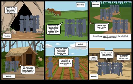 Peleolithic vs Neolithic