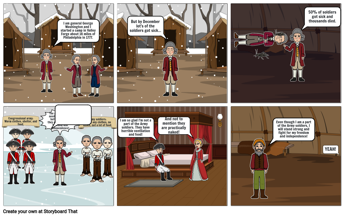 Storyboard Valley Forge