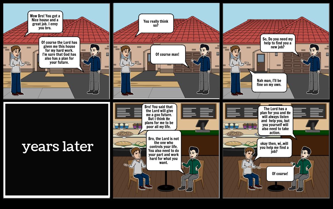 Comic Strip CM  2
