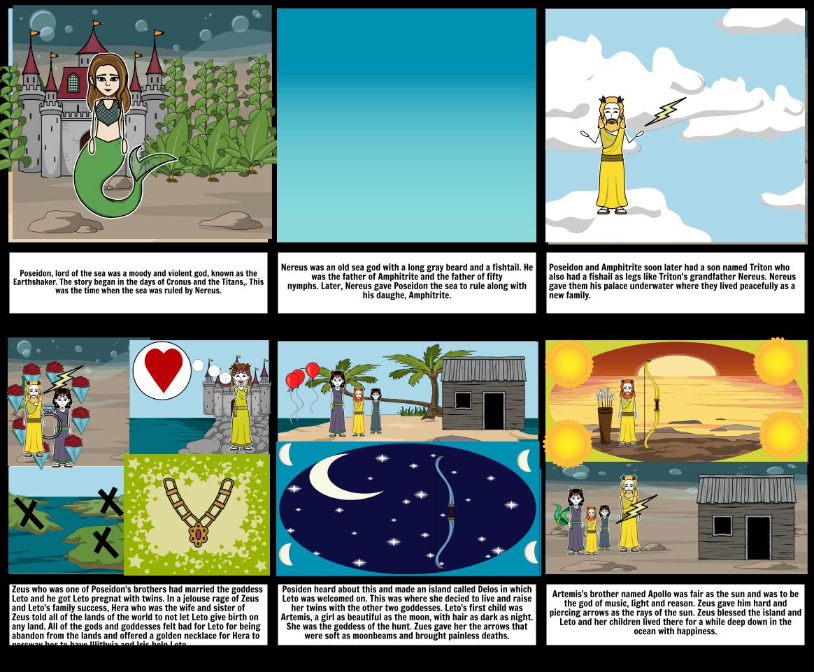 Farol and Henry's Poseidon Story