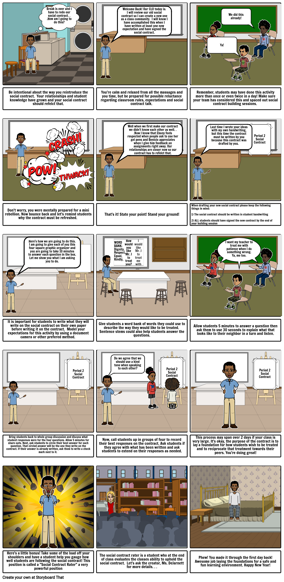 Social Contract PD