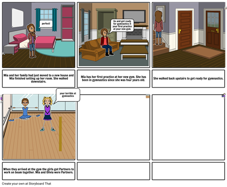 Gymnastics short story!!!
