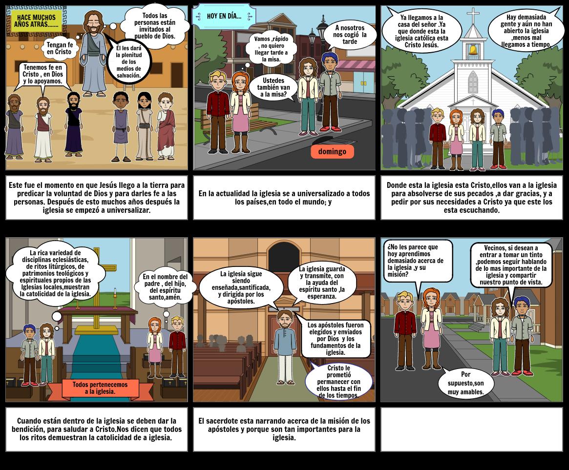 HISTORIETA DE LA IGLESIA ES CATÓLICA Y APOSTÓLICA