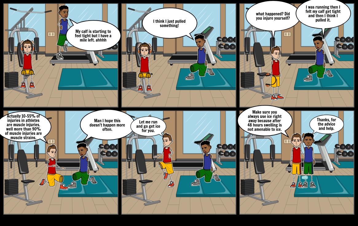 Health Comic strip