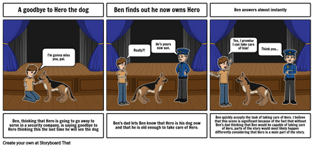 The Start of Ben and Hero's companionship