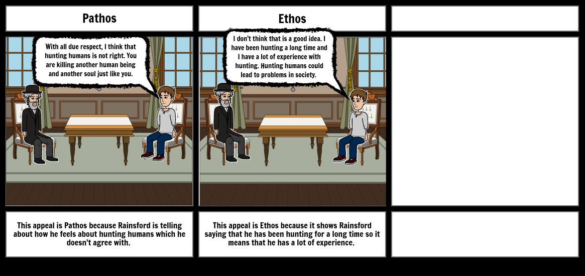 Rainsford's Rhetorical Appeals