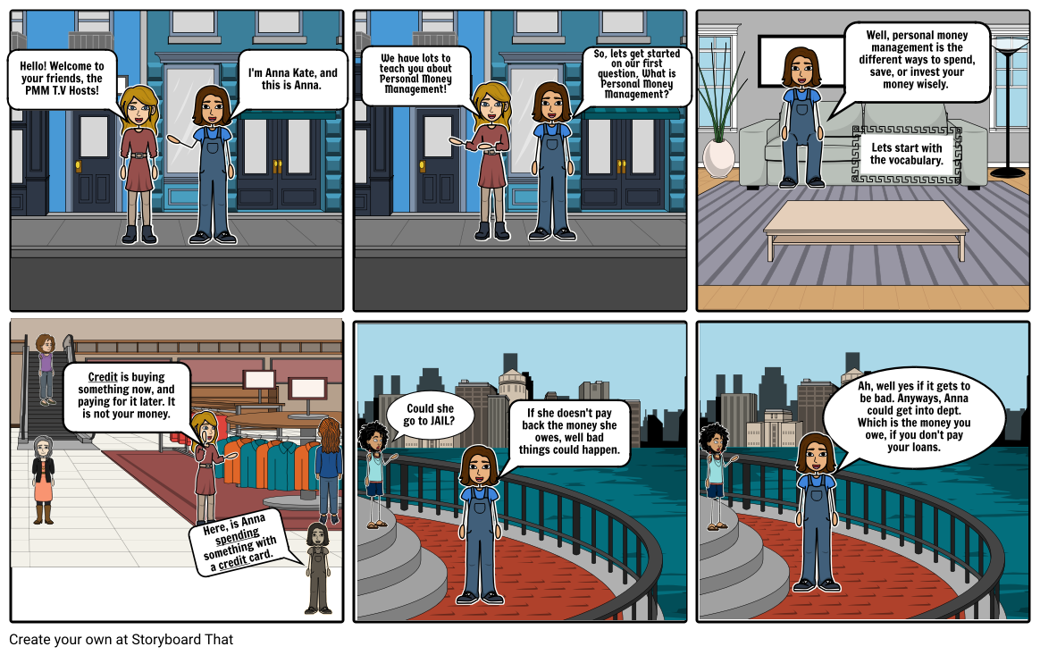 personal money management storyboard by f95c0568