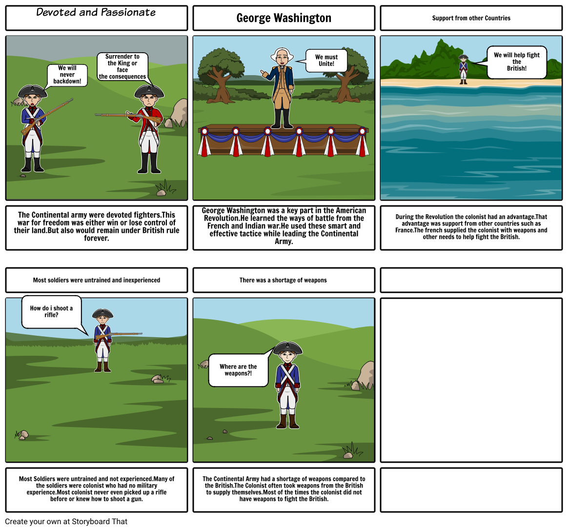 Advantages and Disadvantages of the Continental Army