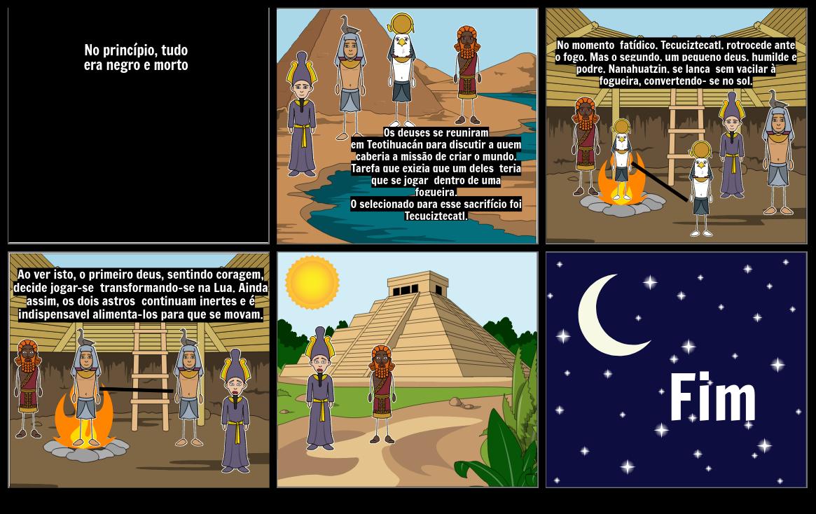 Mito de criação Asteca