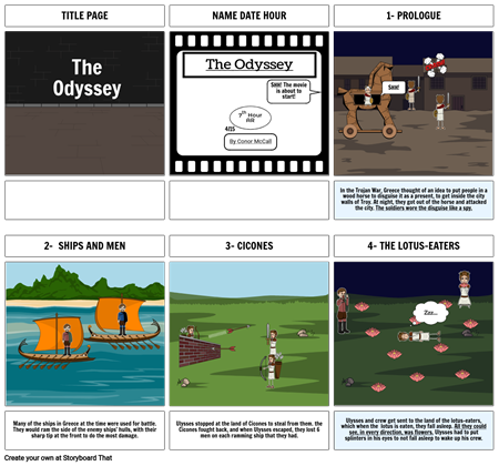 The Odyssey Chapter 1-4