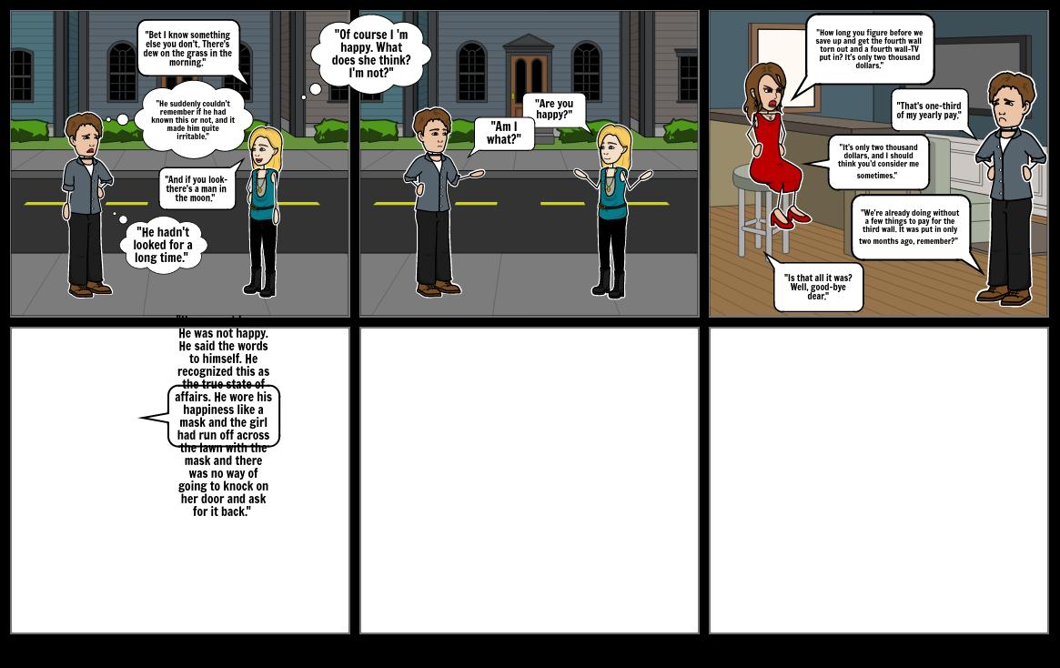 Fahrenheit 451 Comic Strip