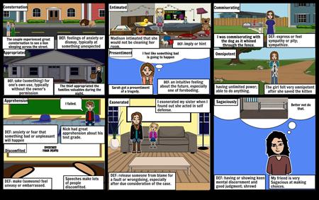 chapters 1-9 vocab