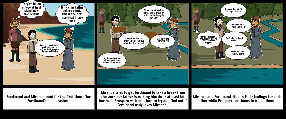 Miranda and Ferdinand