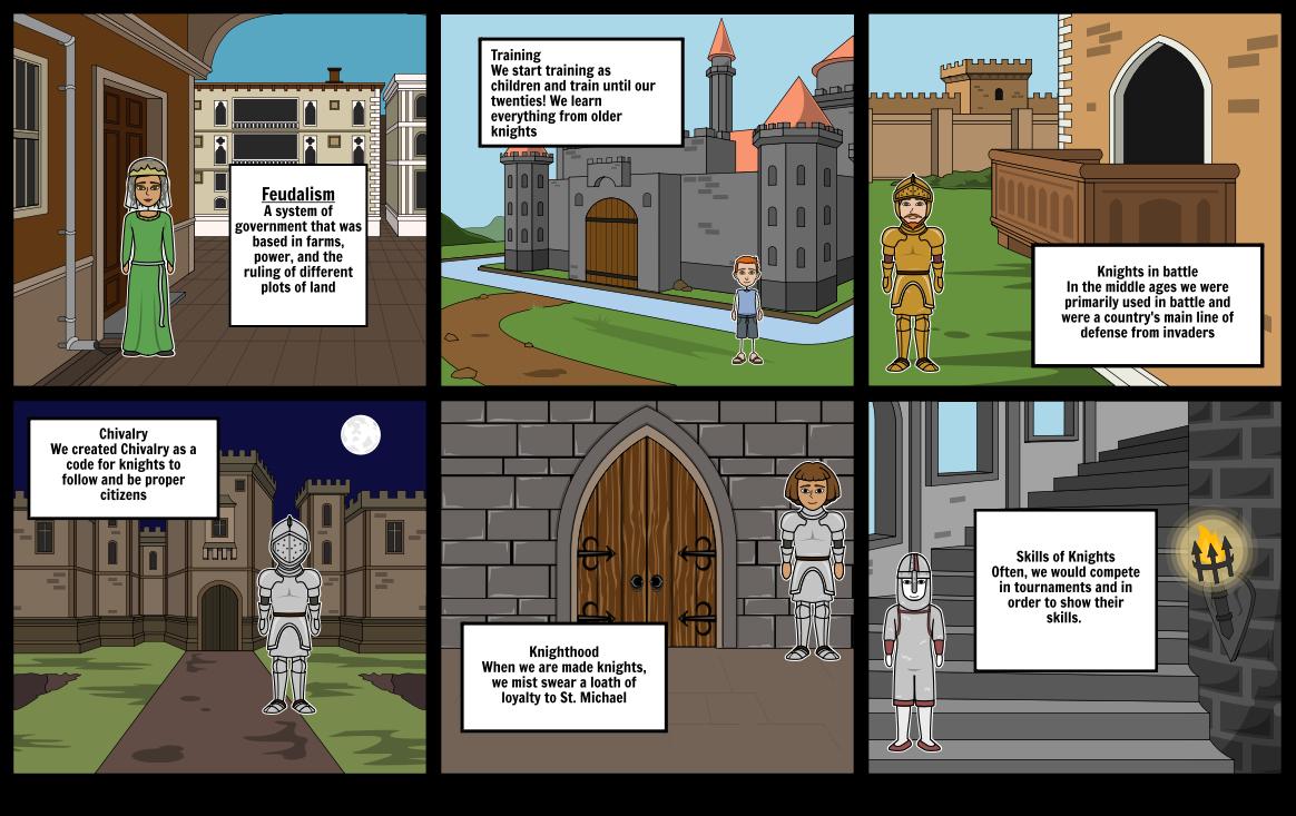 Knights Feudalism