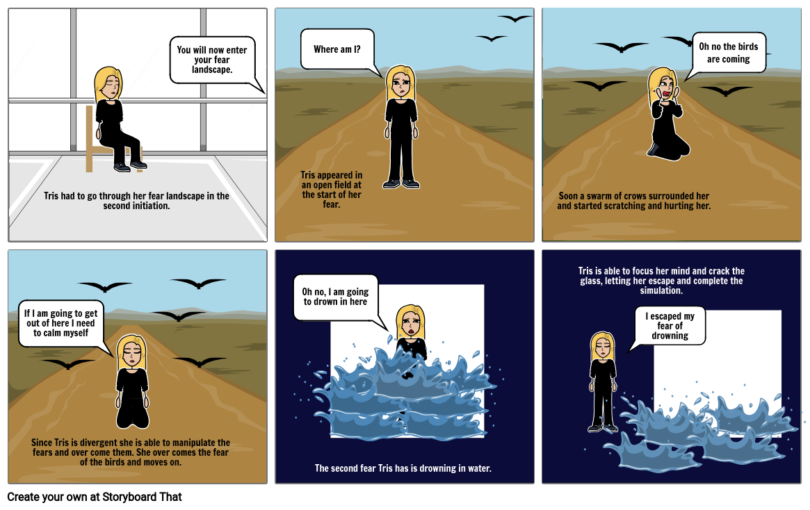 Divergent story board