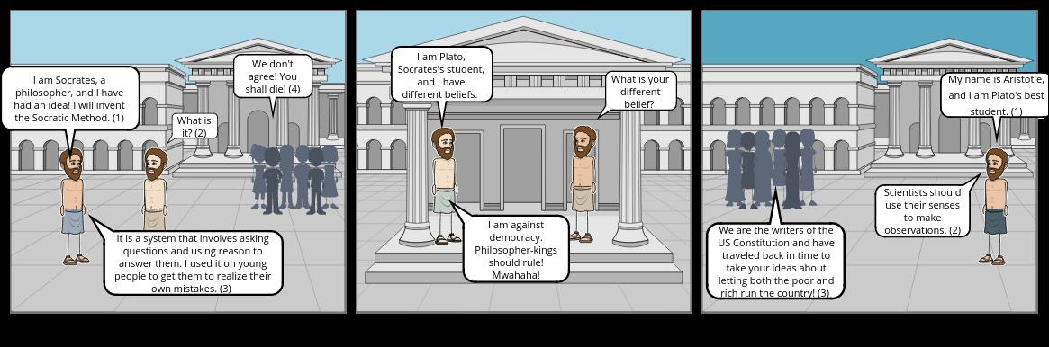 Philosophers Comic