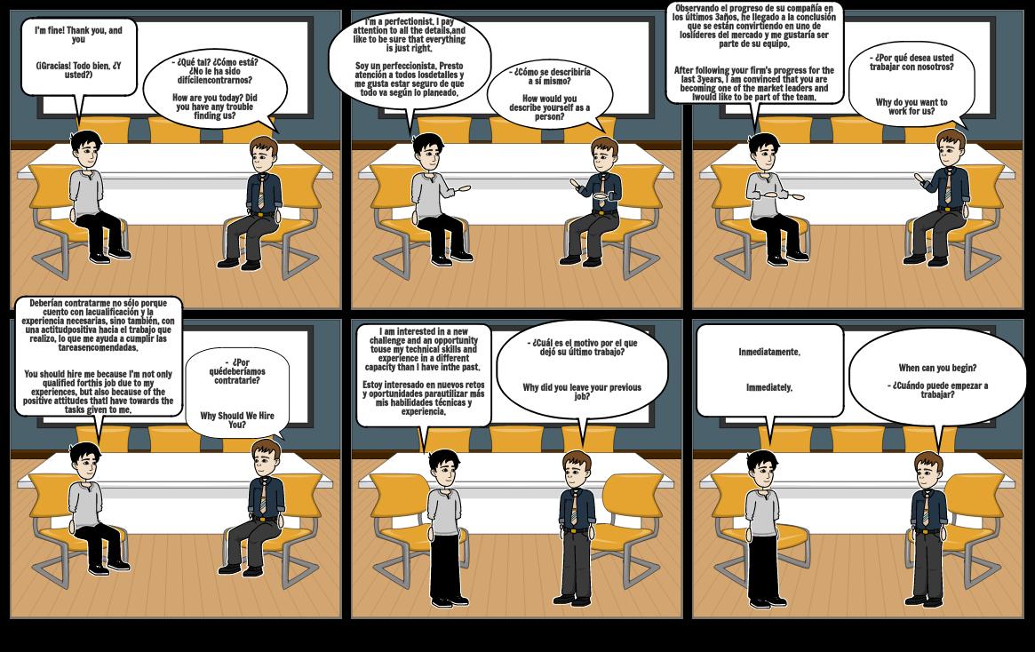 Comic de ingles
