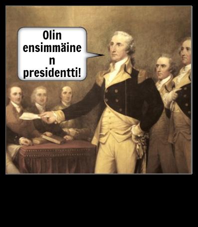 George Washingtonin Esimerkki