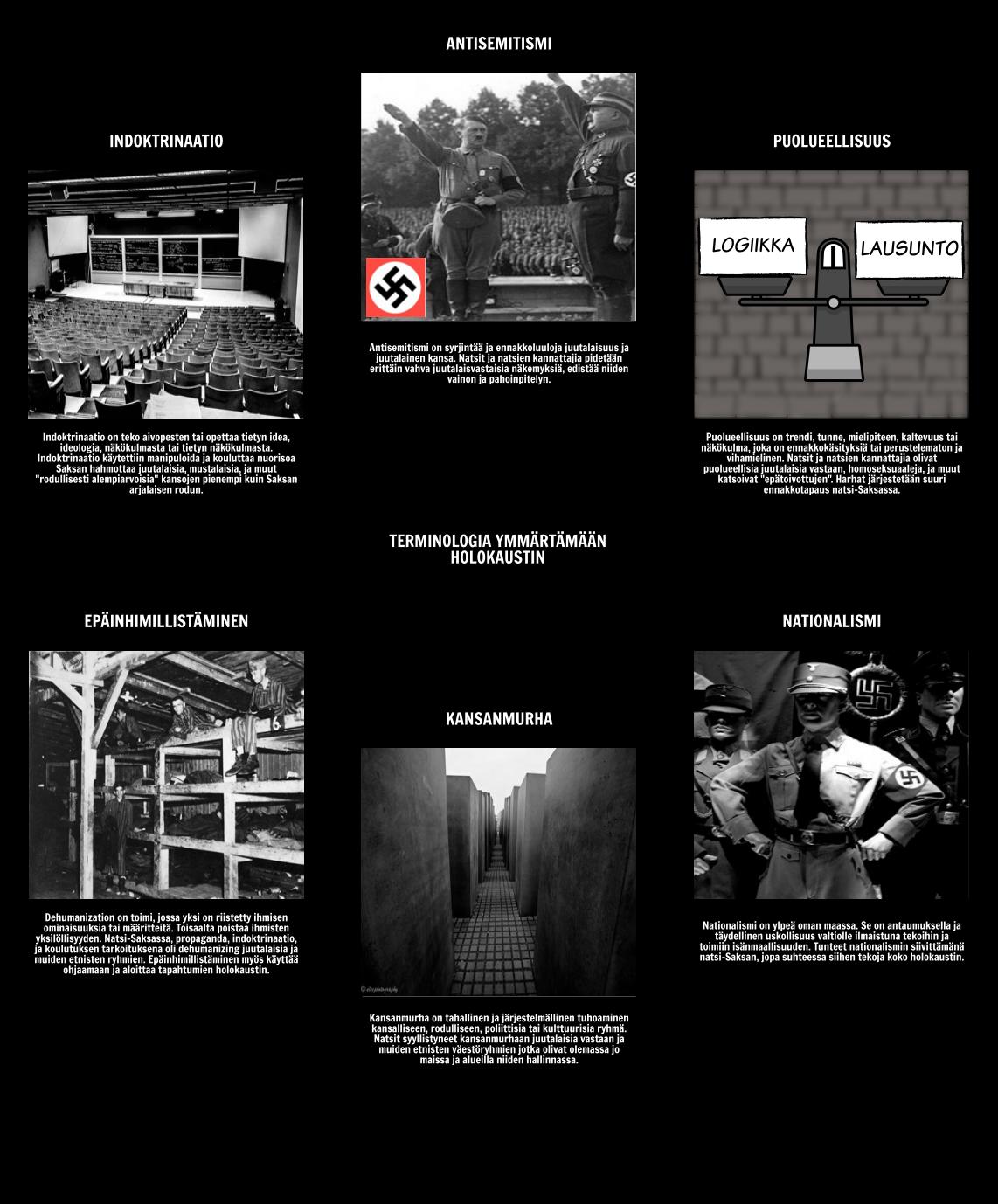 Historia Holokaustin - Terminologia Ymmärtäminen Holokaustin
