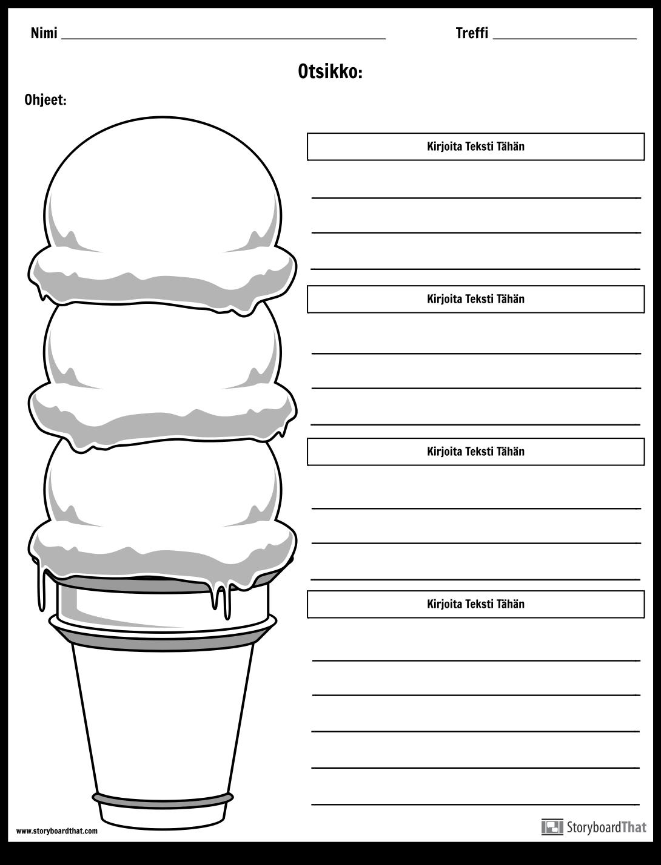 Ice Cream Cone Kappale