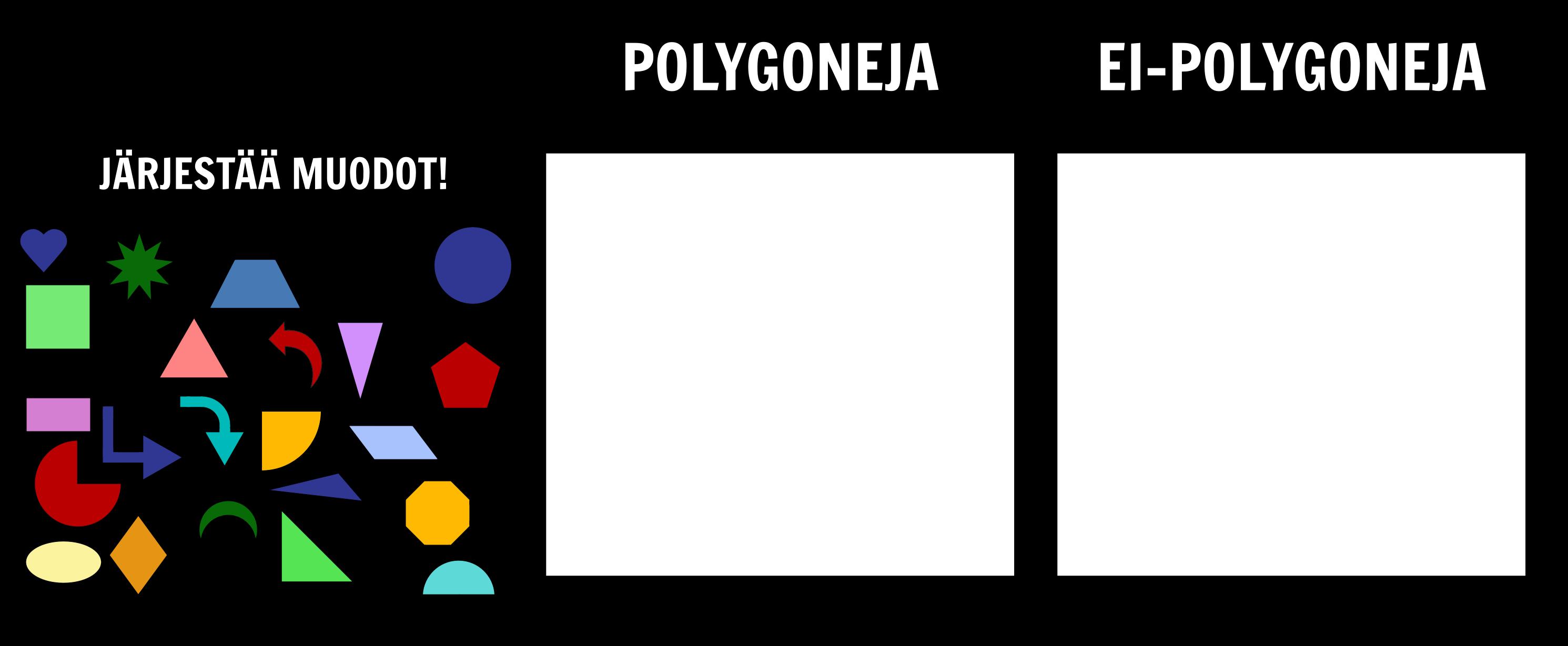 Intro Geometry - Polygon Lajittelu