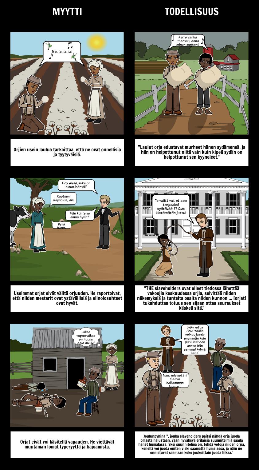 Kerronta Elämän Frederick Douglass Myytinmurtajat