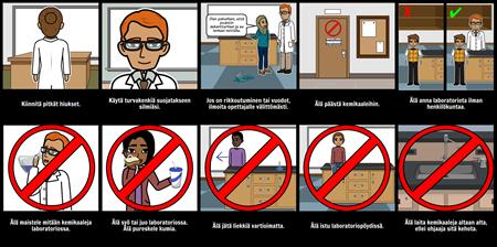 Lab Turvallisuussäännöt