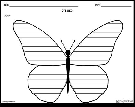 Luova Kirjoittaminen - Perhonen