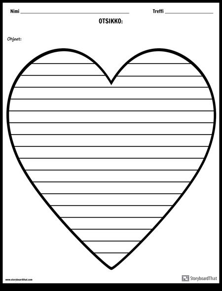 Luova Kirjoittaminen - Sydän