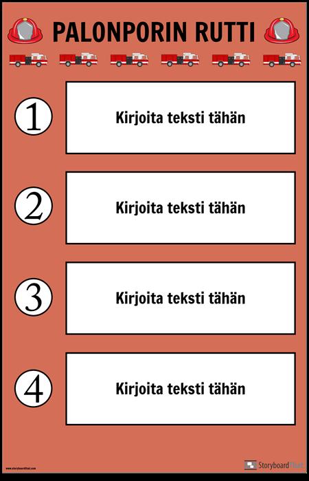 Palopora-juliste