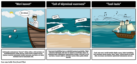 Sea Fever Esittävä Kieli