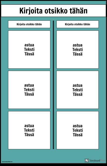 T-kaavion Juliste