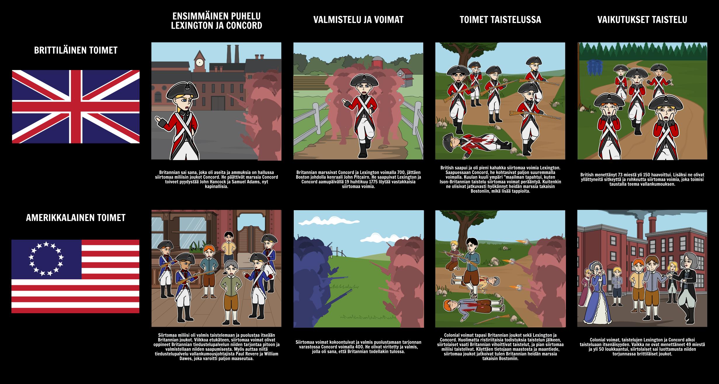 Taistelun Lexington ja Concord