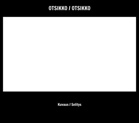Tyhjä 16x9 - Nimike