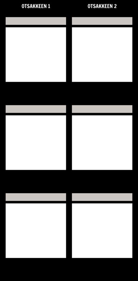 Tyhjä Vertailu T-Chart