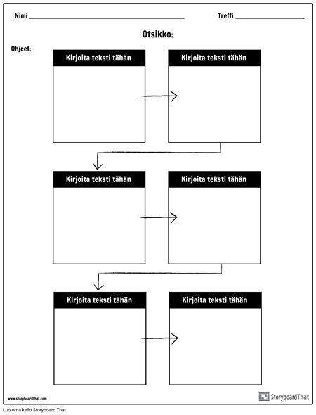 Virtauskaavio - 6