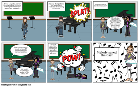 Melody The Musician Saves the Day!