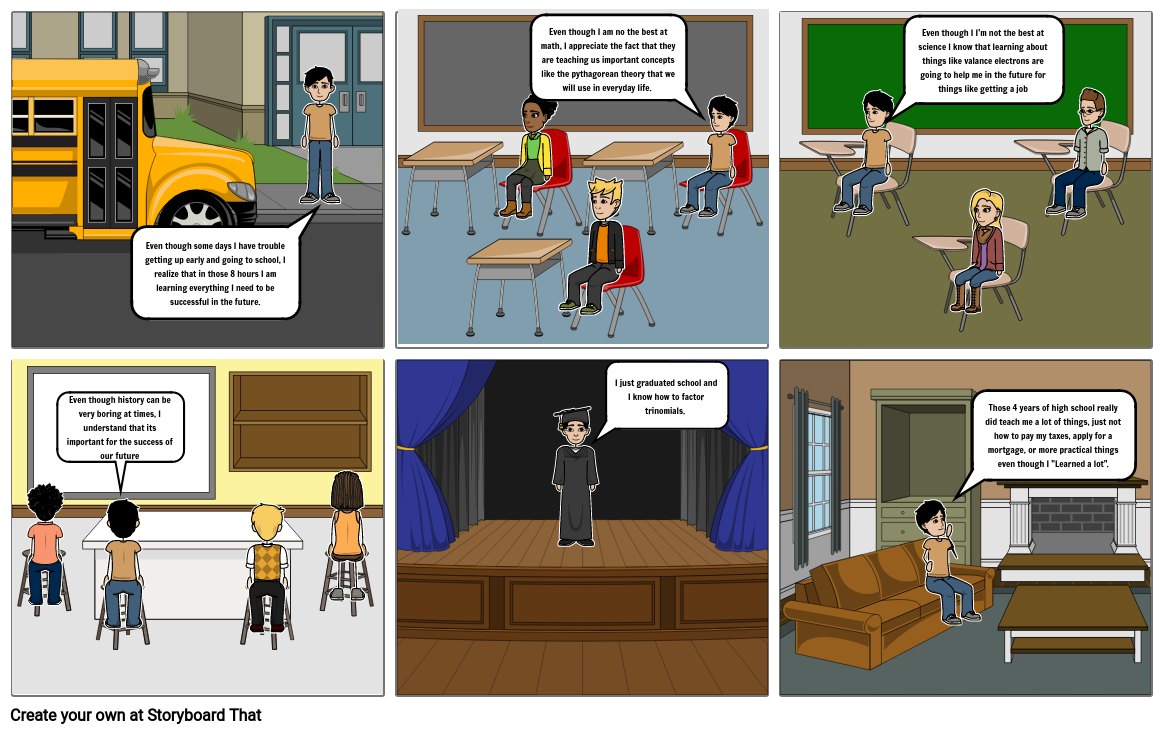 Satire Project Storyboard By Fmarin360