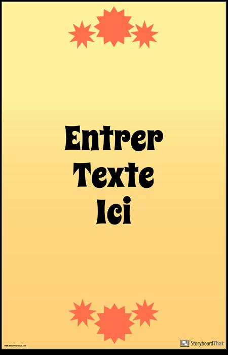 Affiche de Citation Verticale