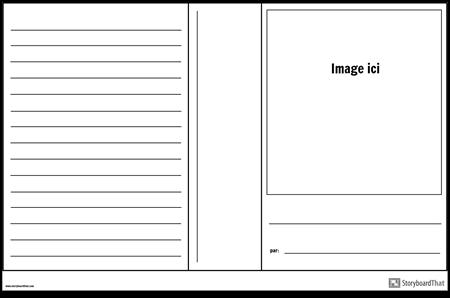 Affiche de Couverture de Livre 1