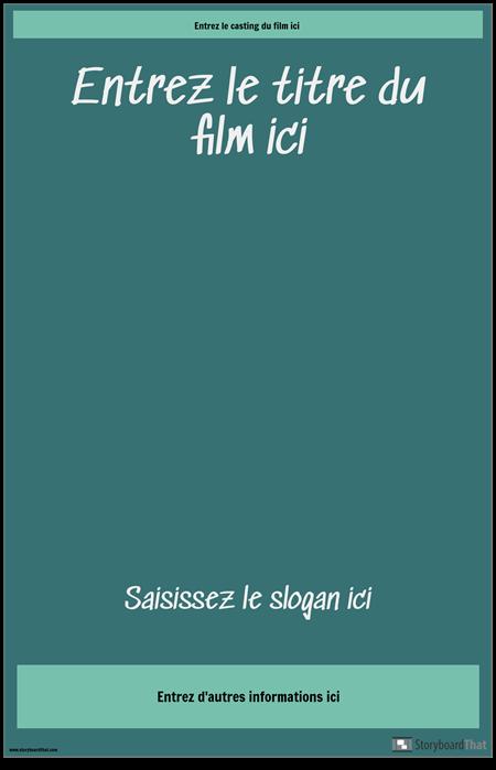 Affiche de Film 3