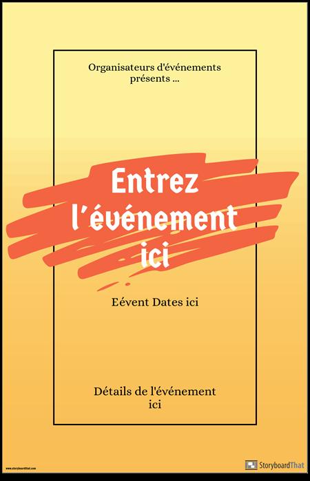 Affiche de L'événement 1